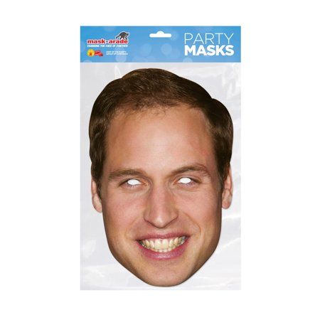 Prince William Royal Facemask – Costume Accessory