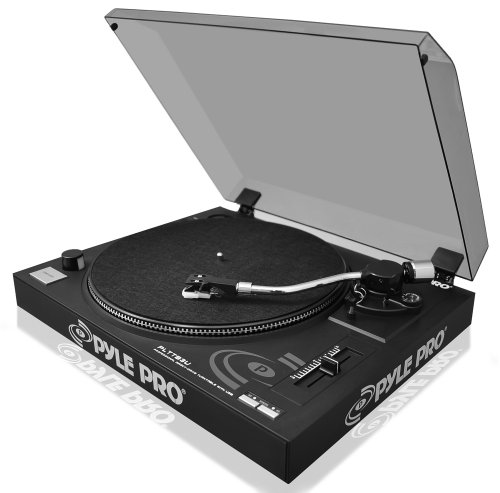 PYLE AUDIO PYLTTB3UM Belt-Drive USB Turntable with Digital Recording Software by Pyle