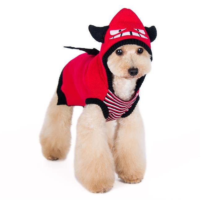 Dogo Dogo 59222rd Xl Little Devil Dog Sweater Extra Large