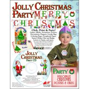 ScrapSMART Jolly Christmas Party CD-ROM: Decorations, Crafts, Scrapbook and Coloring Pages