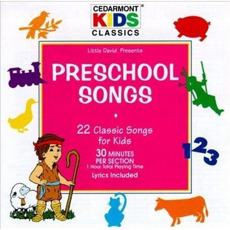 CEDARMONT KIDS-CLASSICS: PRESCHOOL SONGS CD NEW - Preschool Halloween Party Songs