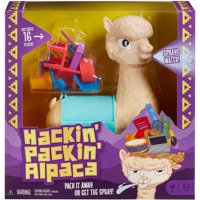 Deals on Hackin Packin Alpaca Kids Game with Spitting Alpaca for Ages 5Y+