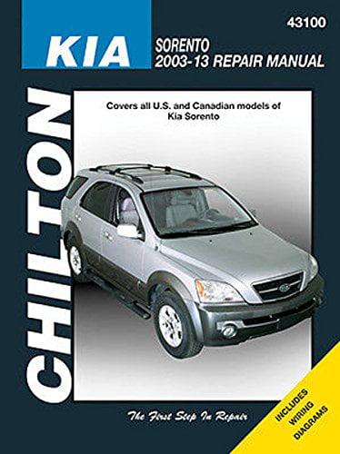 2003-2013 Kia Sorento Chilton Repair Manual