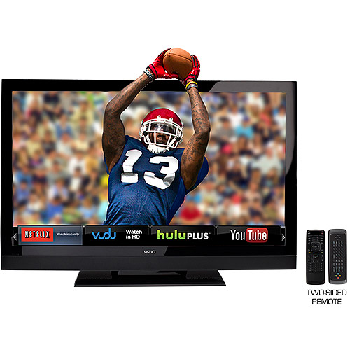 "VIZIO 42"" Class Theater 3D LCD HDTV with VIZIO Internet Apps 1080p 120Hz refresh fate, E3D420VX"