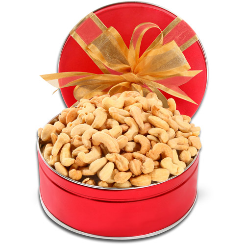 Alder Creek Fancy Roasted and Salted Cashews Gift Tin, 1.5lbs