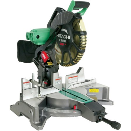 Hitachi C12Fdh 12-Inch Dual Compound Miter Saw With Laser Marker