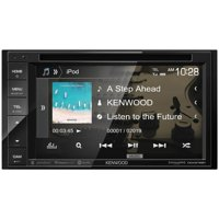"""KENWOOD DDX276BT 6.2"""" Double-DIN In-Dash DVD Receiver with Bluetooth & SiriusXM Ready"""