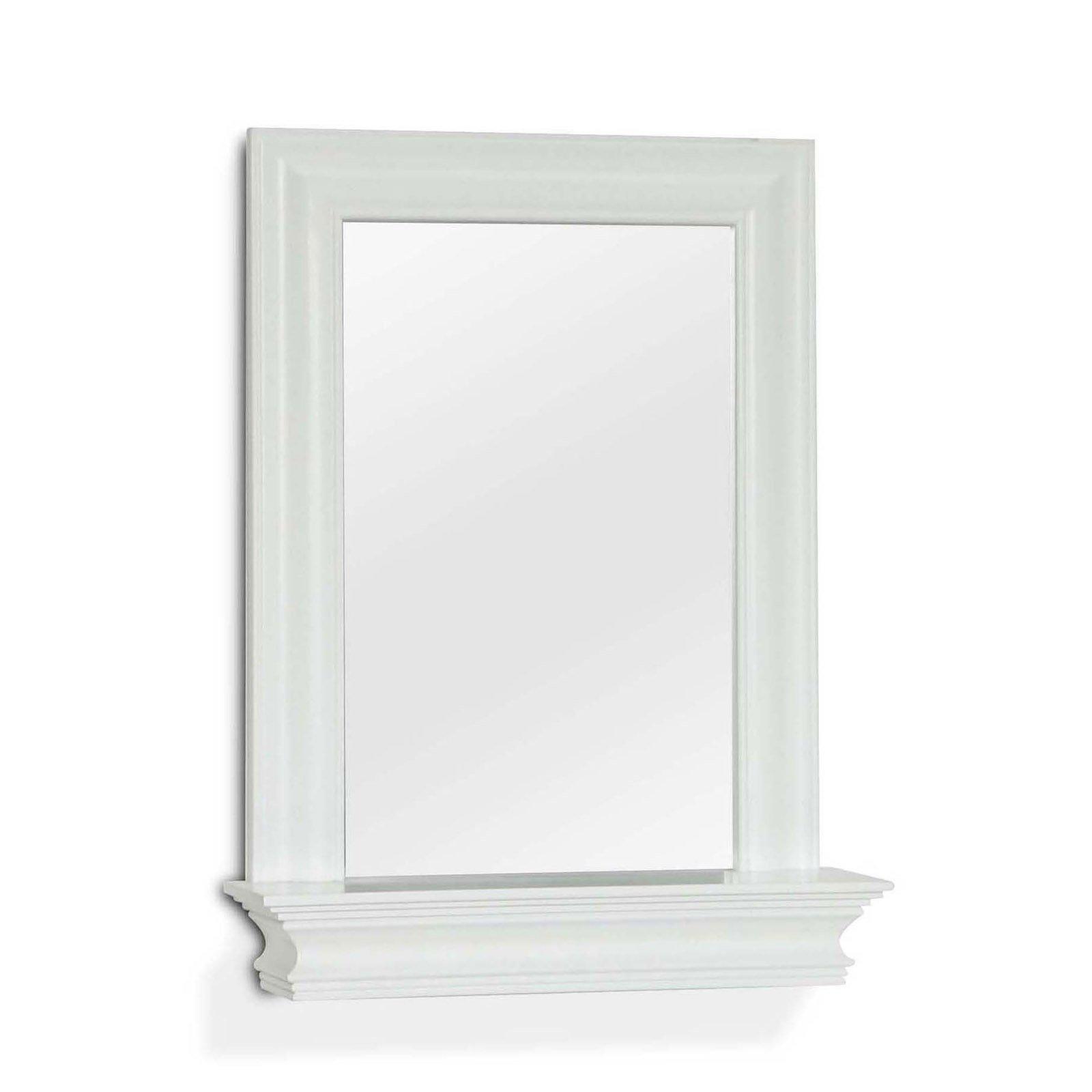 Stratford Wall Mirror with Shelf - 18W x 24H in.
