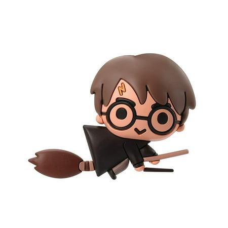 Magnet - Harry Potter - Harry Potter With Broom 3D Foam New