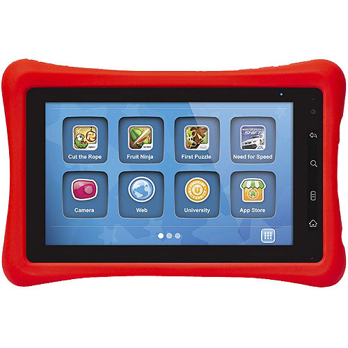 "Fuhu Nabi 7.0"" 1.1GHz 4GB Android 2.2 (Froyo) OS Red"