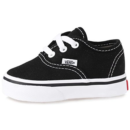Vans VN-0ED9BLK : Unisex Authentic Sneakers Black Toddler