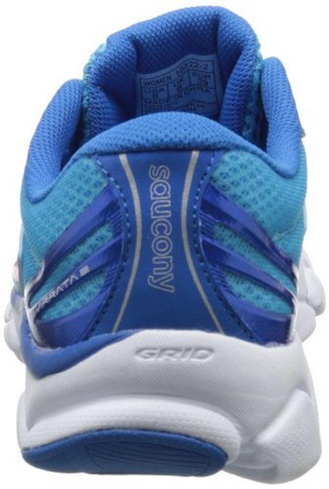 Saucony Women's Virrata 2 Running Shoe,Blue Orange,5.5 M US by
