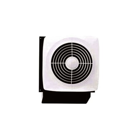 Roof Exhaust Fans - Broan Through Wall Kitchen Exhaust Fan 180 Cfm