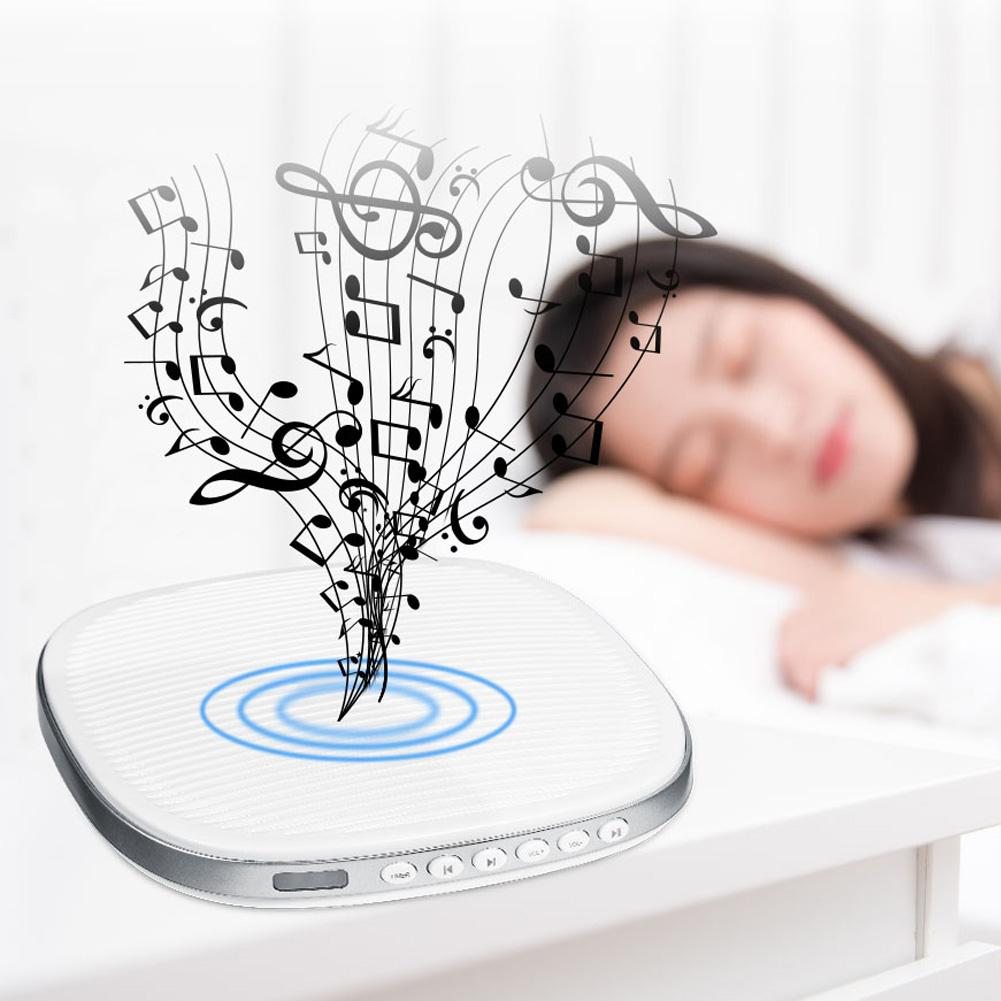 VBESTLIFE Sound Therapy Machine,20 White Noise Sleep Easy Conditioner Machine Sound Therapy Spa Relaxation Soothing Aid Spa Sound Machine