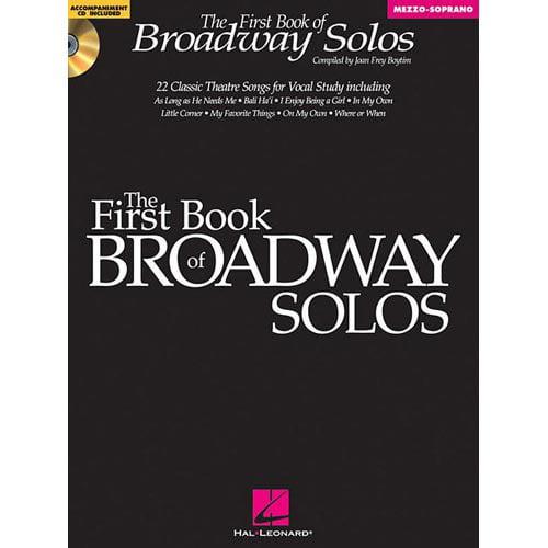 First Book of Broadway Solos: Mezzo-Soprano