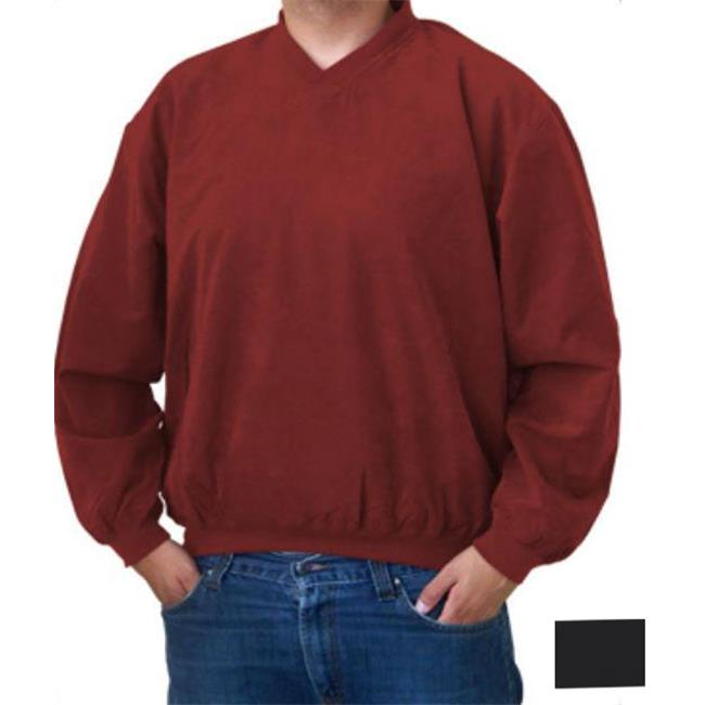 Colorado Timberline WSG Hiwan Mens Black Microfiber Windshirt Large