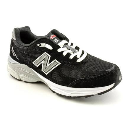 New Balance W990 Women  Round Toe Suede Black Running