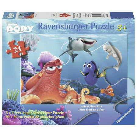 Ravensburger Disney Finding Dory 24-Piece Giant Floor Puzzle ()