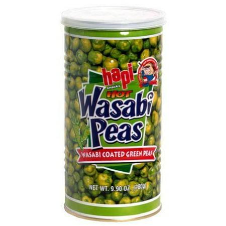 Hapi, Wasabi Green Peas Hot Can, 9.9-Ounce (12 Pack)