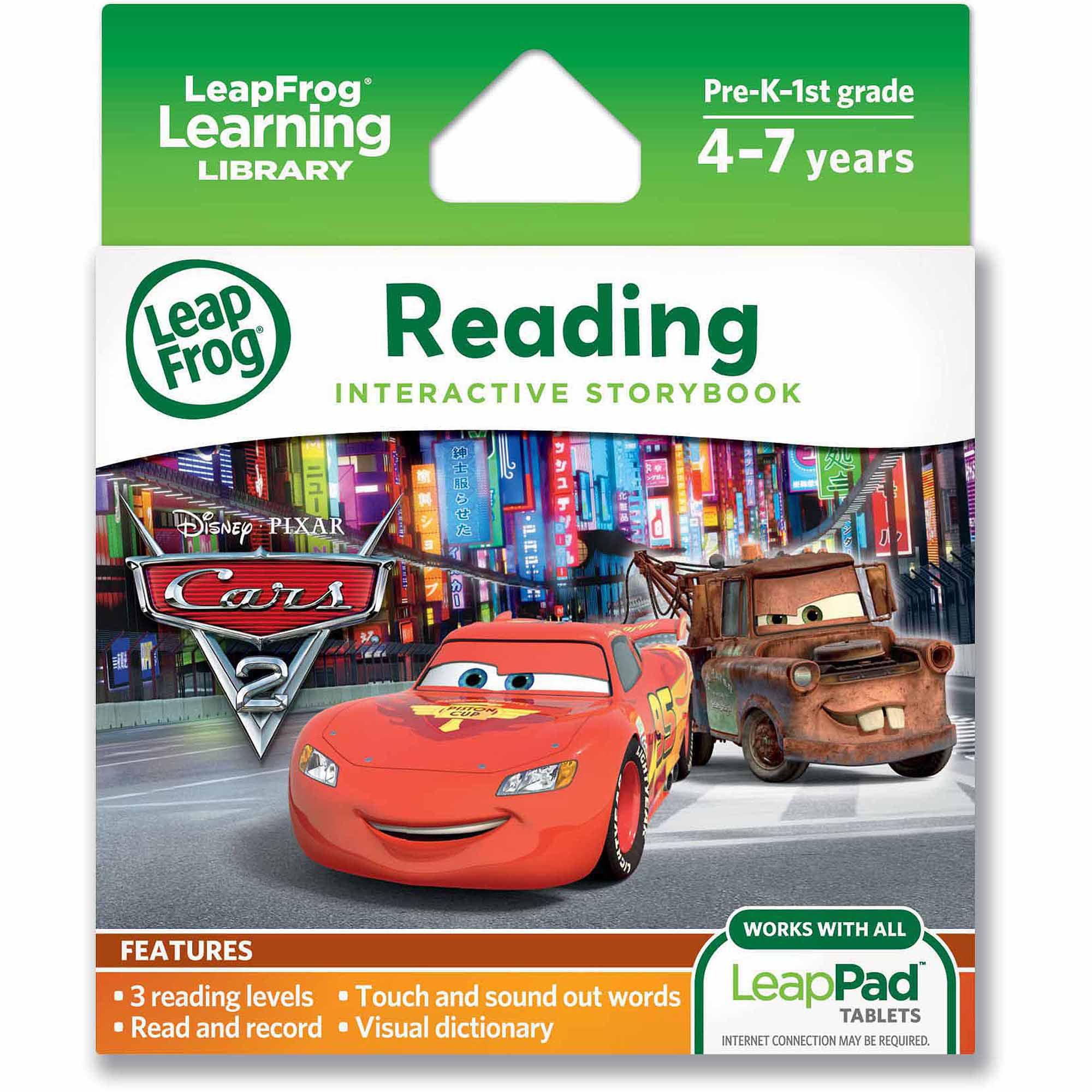 LeapFrog LeapPad Ultra eBook: Disney Pixar Cars 2 by LeapFrog