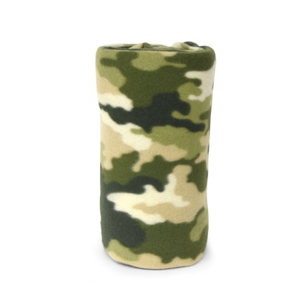 Mainstays Fleece Camouflage Printed Throw Blanket, 1 Each - Fleece Collection Throw Blanket