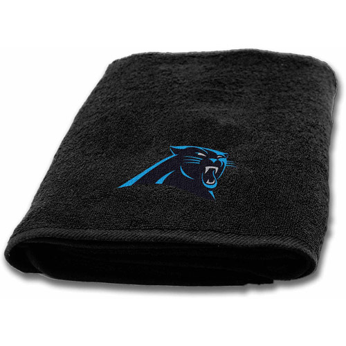 NFL Applique Bath Towel, Panthers