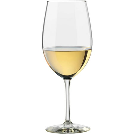 Libbey Vineyard 18 oz Clear Chardonnay Glasses, Set of 8