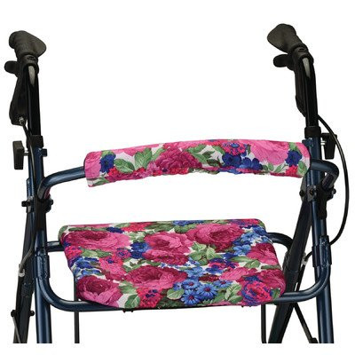 NOVA Medical Products Seat and Back Cover for Rolling Walker, English Garden, 1 Pound