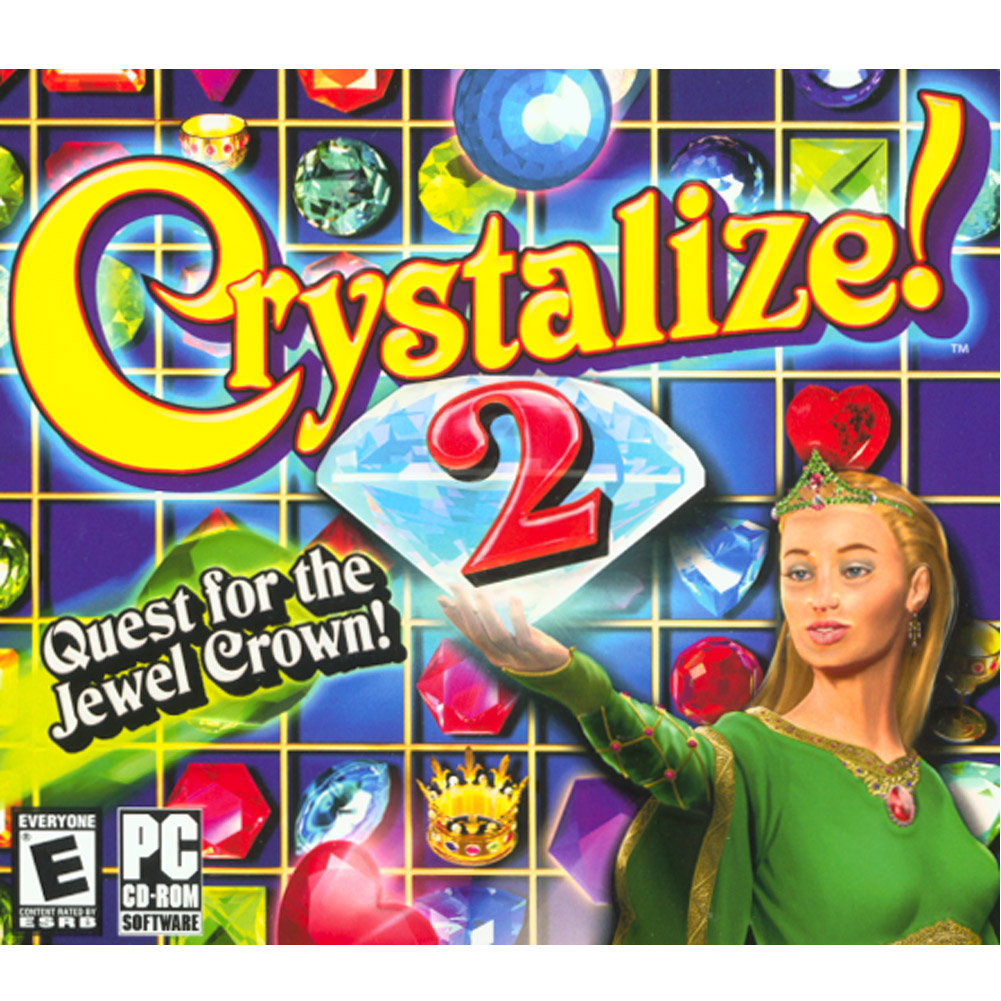 Crystalize! 2: Quest for the Jewel Crown!- XSDP -10580 - Once upon a time, in a land far, far away, two love-struck Royals, kept apart in the kingdom of Crystelia, had lost hope of finding one an