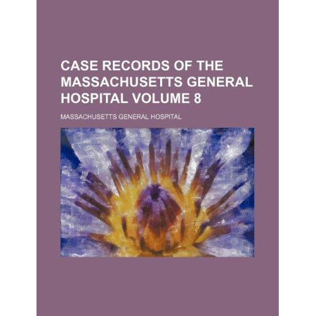 Case Records Of The Massachusetts General Hospital Volume 8
