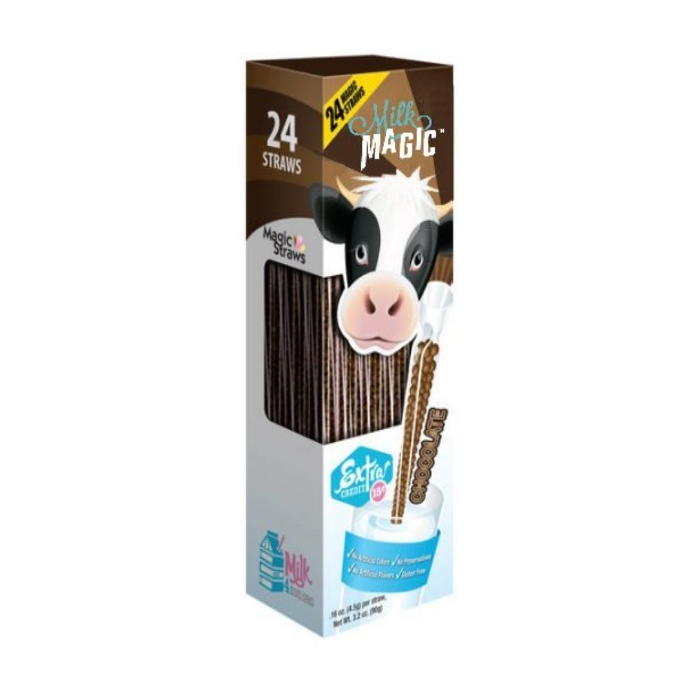 Milk Magic? Chocolate Milk Flavoring Straws, .16 oz, 24 count