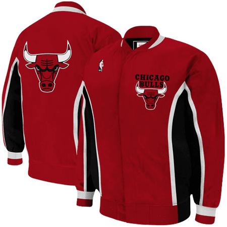 Mitchell   Ness Chicago Bulls Hardwood Classics Vintage Warm-Up Jacket -  Red - Walmart.com df63c0132