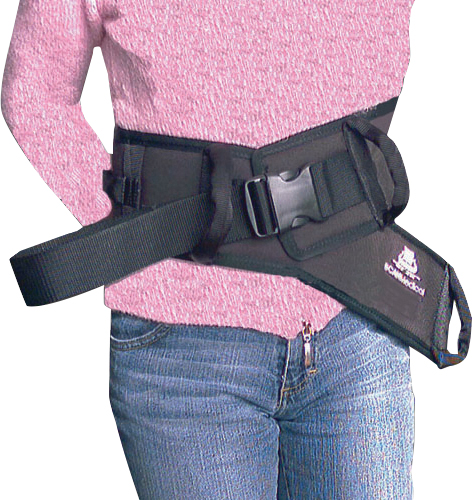 "Safetysure transfer belt small, 3 ft. l x 4"" w, 3/8"" thickness, 23""-36"" waist part no. 6033 (1/ea)"