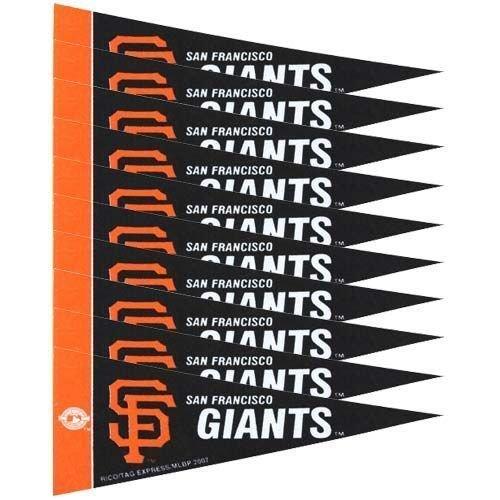 San Francisco Giants MLB Mini Pennant Set (8)