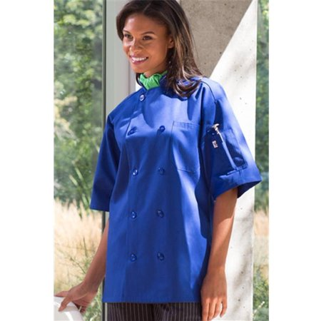 Vtex 0415-6303 Short Sleeve Avocado Chef Coat,