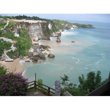 Bali Wave - LAMINATED POSTER Ocean Indonesia Coast Tropical Beach Bali Wave Poster Print 24 x 36