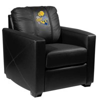Golden State Warriors NBA Silver Chair with 2018 Champions Logo Panel