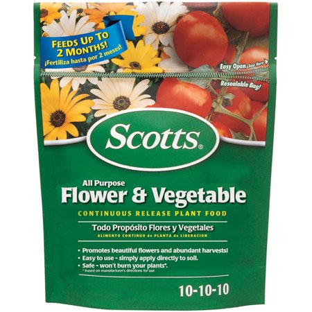 Scott Mongoose Release - Scotts All Purpose Flower and Vegetable Continuous Release Plant Food, 3 lbs