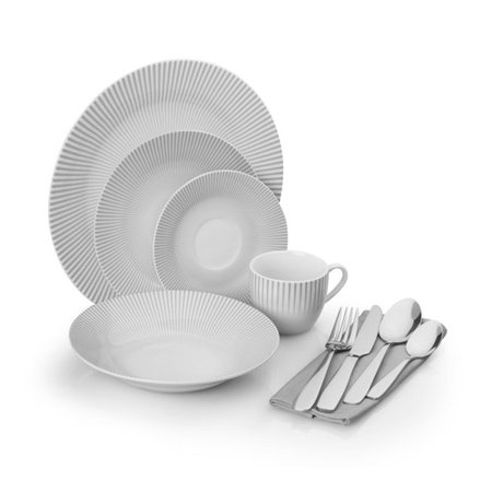 For The Chef 40 Piece Dinnerware Set Service For 4 Walmartcom