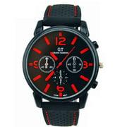 Men Sports Quartz Watch Wrist Watch Men Retro Watch Dial Clock Leather Racing Watch