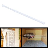 OTVIAP Adjustable Shower Curtain Rod,Adjustable Spring Loaded Tension Rod Shower Extendable Curtain Closet Window Rail Pole