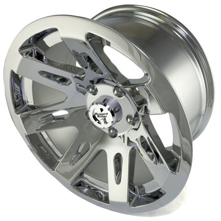 Rugged Ridge 15301.20 XHD Wheel; 17 in. x 9 in.; 5 in. x 5 in. Bolt Pattern; 14 mm Offset; 4.53 in. Backspacing; Polished