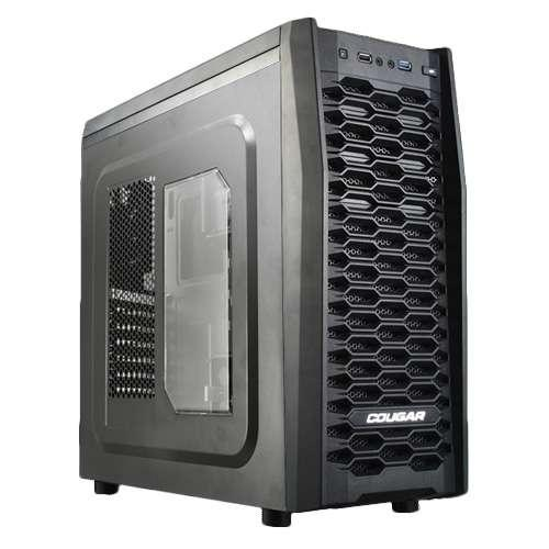 COUGAR MX300 BLACK STEEL ATX COMPUTER CASE