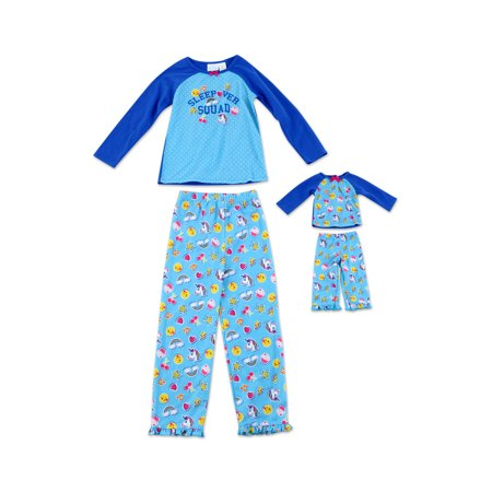 Toddler Girl Sleepover Squad Dream with Me Matching Doll Pajamas - 2T (Dolly And Me Pajamas)