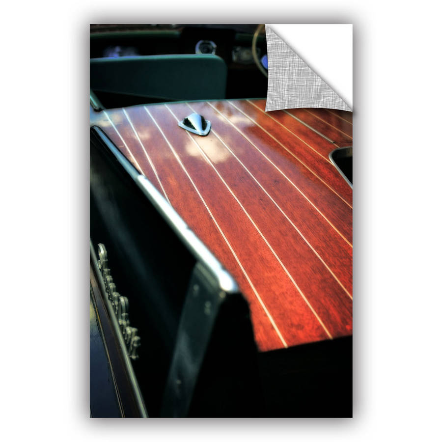 """ArtWall Kevin Calkins """"Pinstripes and Tailfins"""" ArtAppealz Removable Wall Art"""