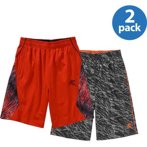 And1 Boys' Activewear Shorts Your Choice 2 Pack Value Bundle