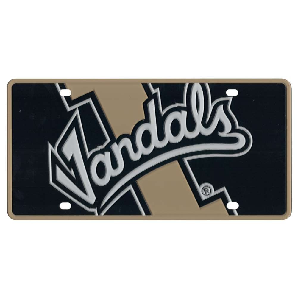 Idaho Vandals Full Color Mega Inlay License Plate