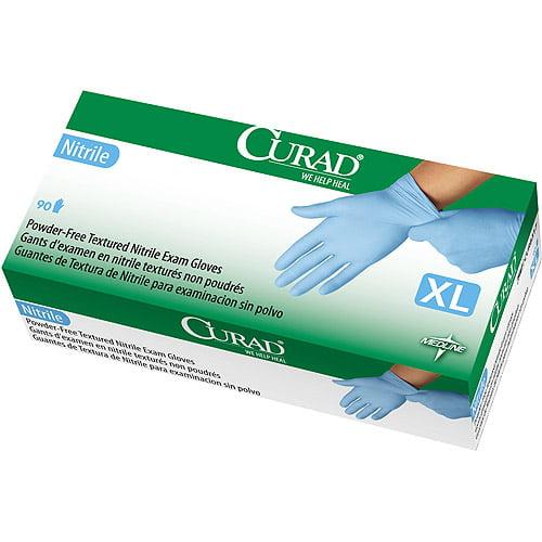 Curad Nitrile Exam Glove Xlarge