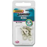 3400280,RING TERMINALS UNINSULATED,,Stud Size=No 6,Wire Gauge=12-10