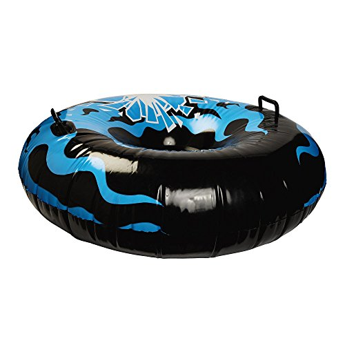 Blizzard King Inflatable Snow Tube Sled, 48-Inch by Blizzard King
